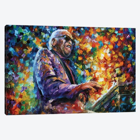 Ray Charles Canvas Print #LEA128} by Leonid Afremov Canvas Wall Art