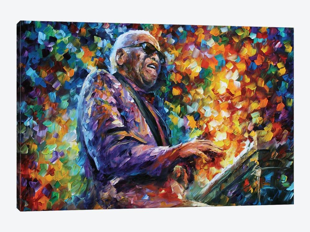 Ray Charles by Leonid Afremov 1-piece Canvas Art Print