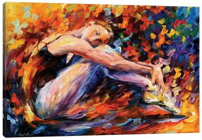 Resting Ballerina Canvas Print #LEA129