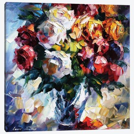 Roses Canvas Print #LEA130} by Leonid Afremov Canvas Art Print