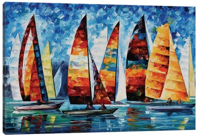 Sail Regatta Canvas Art Print
