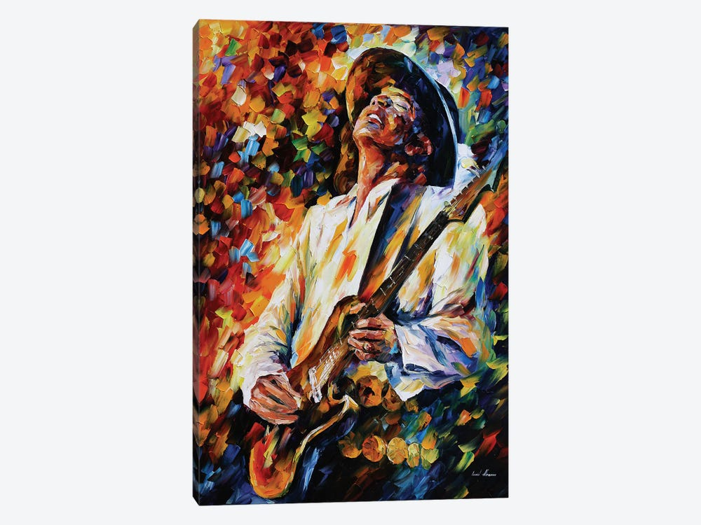 Stevie Ray Vaughn 1-piece Canvas Artwork