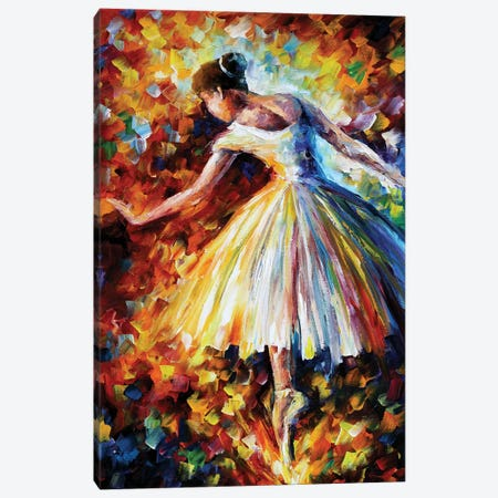 Surrounded By Music Canvas Print #LEA133} by Leonid Afremov Canvas Art Print