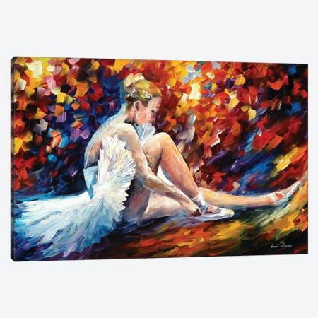 Young Ballerina Canvas Print #LEA136} by Leonid Afremov Canvas Wall Art