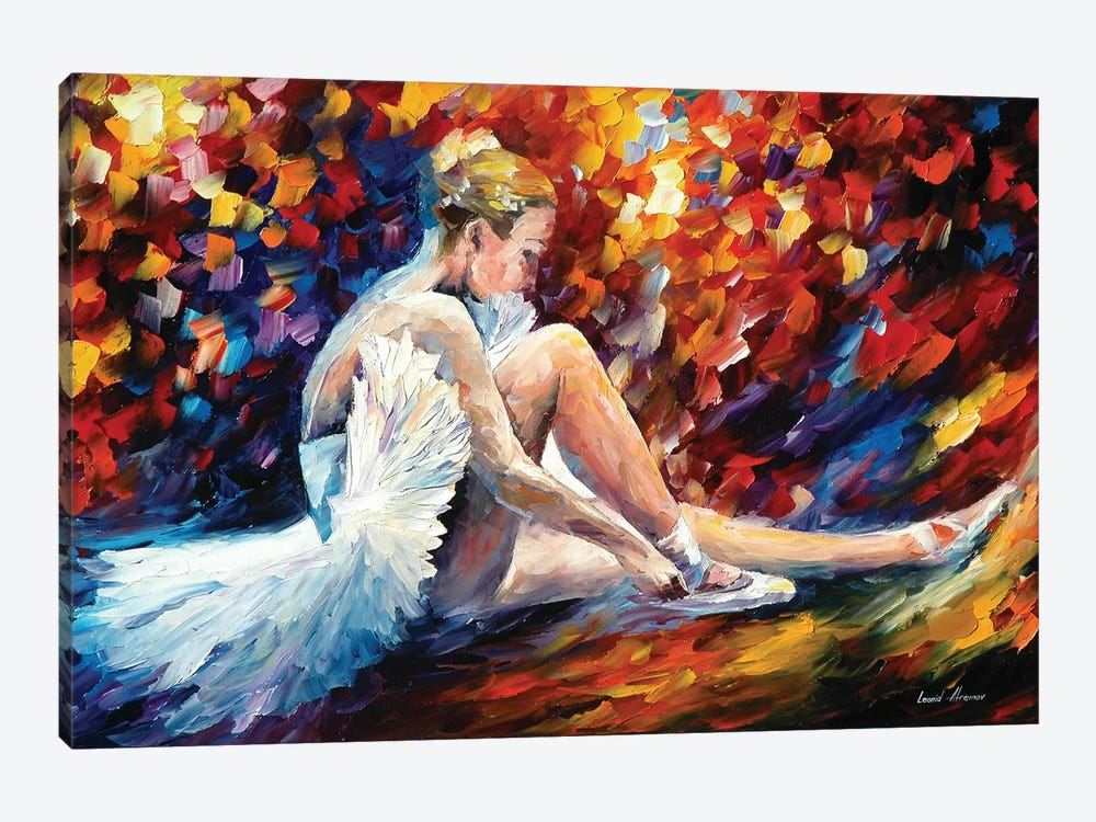Young Ballerina by Leonid Afremov 1-piece Canvas Artwork