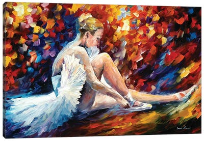Young Ballerina Canvas Art Print
