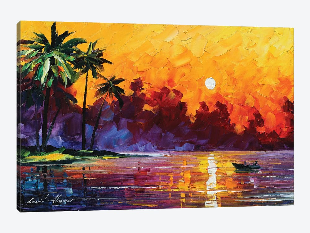 After The Rain by Leonid Afremov 1-piece Canvas Print