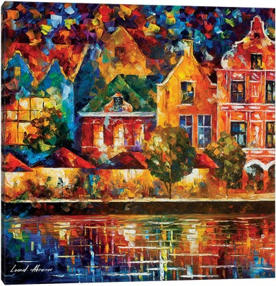 Amsterdam Of My Dreams Canvas Art Print