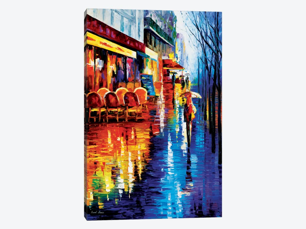 Cafe In Paris by Leonid Afremov 1-piece Art Print