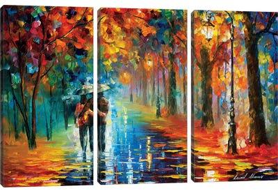 Autumn Hug Canvas Art Print
