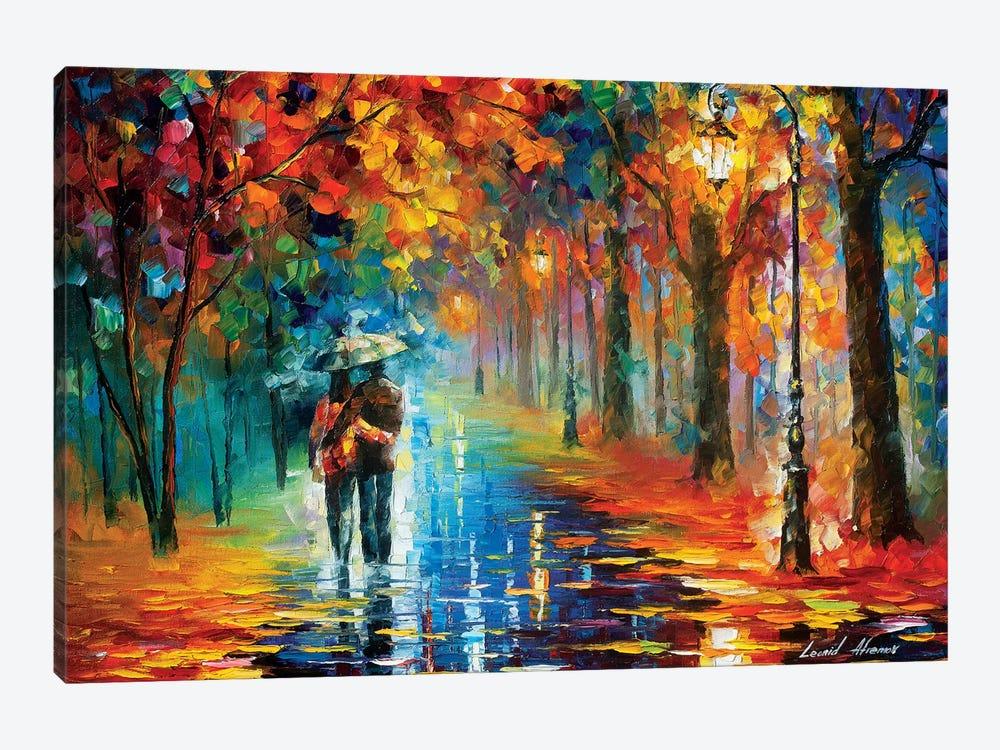Autumn Hug by Leonid Afremov 1-piece Canvas Print