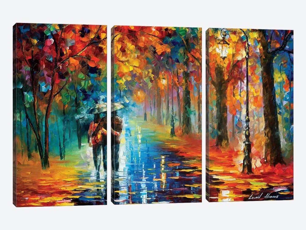 Autumn Hug by Leonid Afremov 3-piece Canvas Art Print