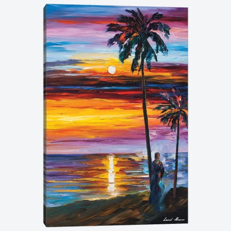 Caribbean Mood Canvas Print #LEA141} by Leonid Afremov Canvas Artwork
