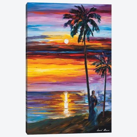 Caribbean Mood Canvas Print #LEA141} by Leonid Afremov Canvas Artwork