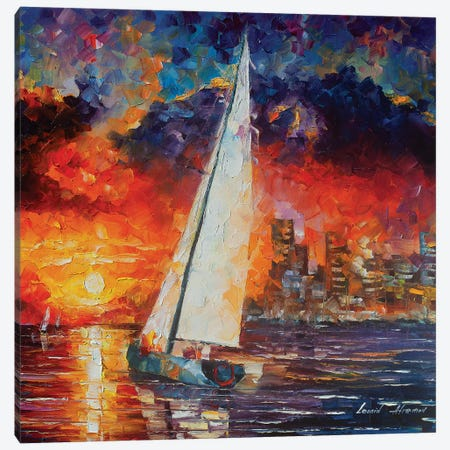 City Of Dreams Canvas Print #LEA142} by Leonid Afremov Canvas Artwork