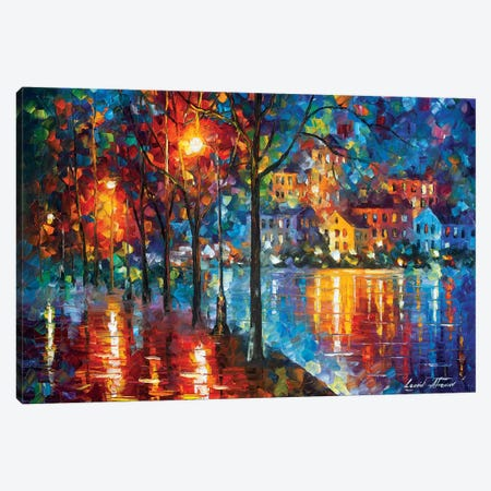 Cold Emotion Canvas Print #LEA143} by Leonid Afremov Canvas Art