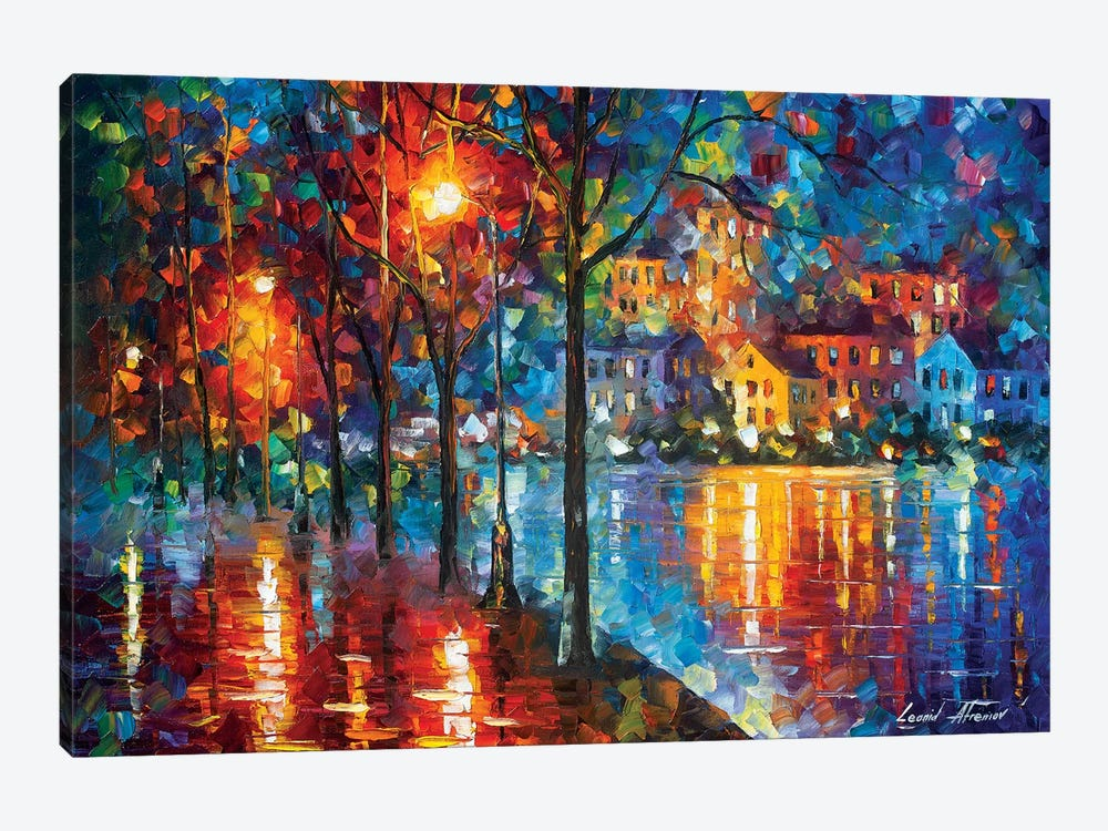 Cold Emotion by Leonid Afremov 1-piece Canvas Wall Art
