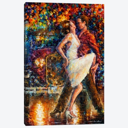 Eternal Emotions Canvas Print #LEA148} by Leonid Afremov Canvas Artwork