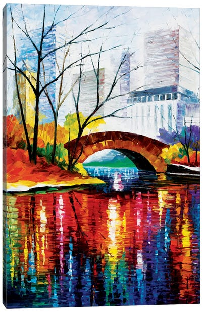 Central Park - New York Canvas Print #LEA14