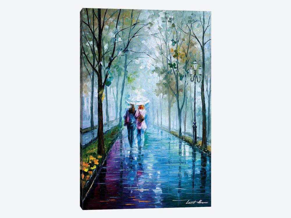 Foggy Stroll by Leonid Afremov 1-piece Canvas Wall Art