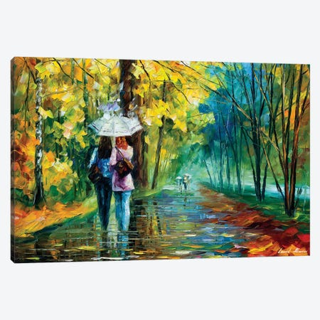 Gossipy Friends Canvas Print #LEA151} by Leonid Afremov Canvas Art Print