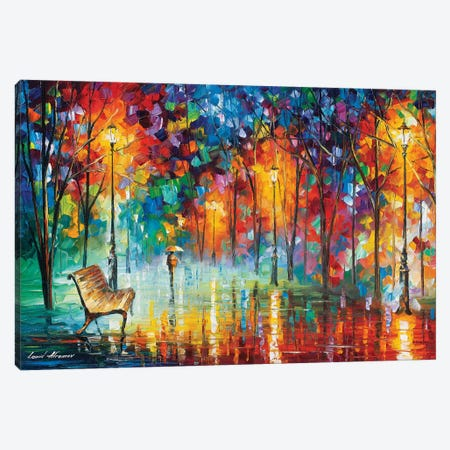 Hidden Way Canvas Print #LEA152} by Leonid Afremov Canvas Art Print