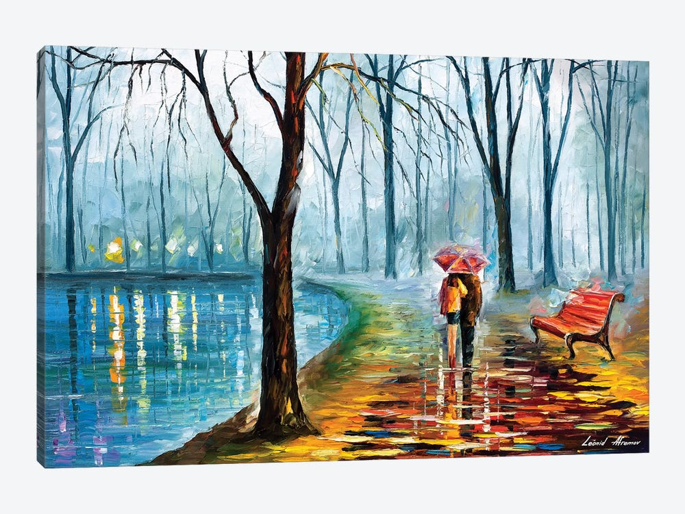 Inside The Rain by Leonid Afremov 1-piece Canvas Art
