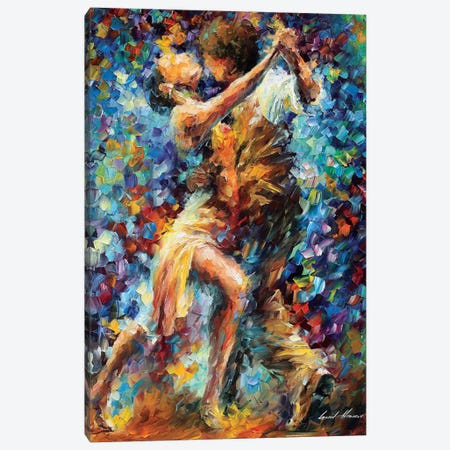 Internal Struggle Of Lust Canvas Print #LEA155} by Leonid Afremov Canvas Wall Art