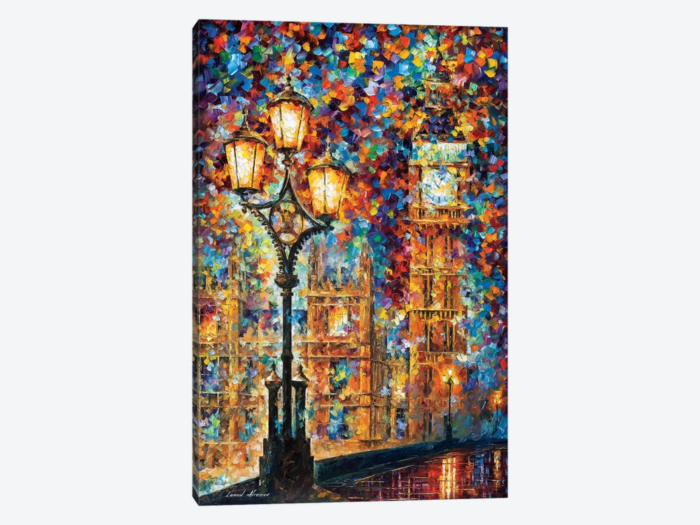 London's Dreams by Leonid Afremov 1-piece Canvas Wall Art