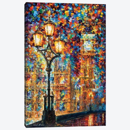 London's Dreams Canvas Print #LEA161} by Leonid Afremov Canvas Wall Art