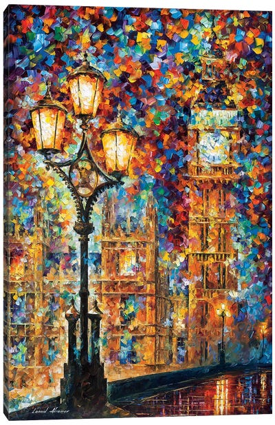 London's Dreams Canvas Art Print