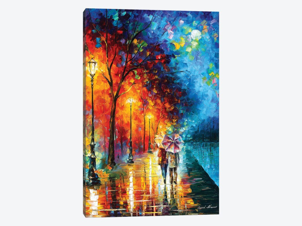 Love By The Lake by Leonid Afremov 1-piece Canvas Art Print