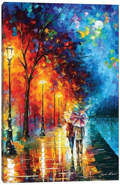 Love By The Lake Canvas Art Print