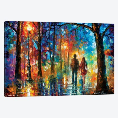 Love In The Air Canvas Print #LEA163} by Leonid Afremov Canvas Artwork