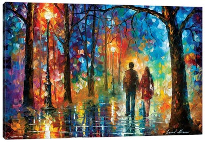 Love In The Air Canvas Art Print