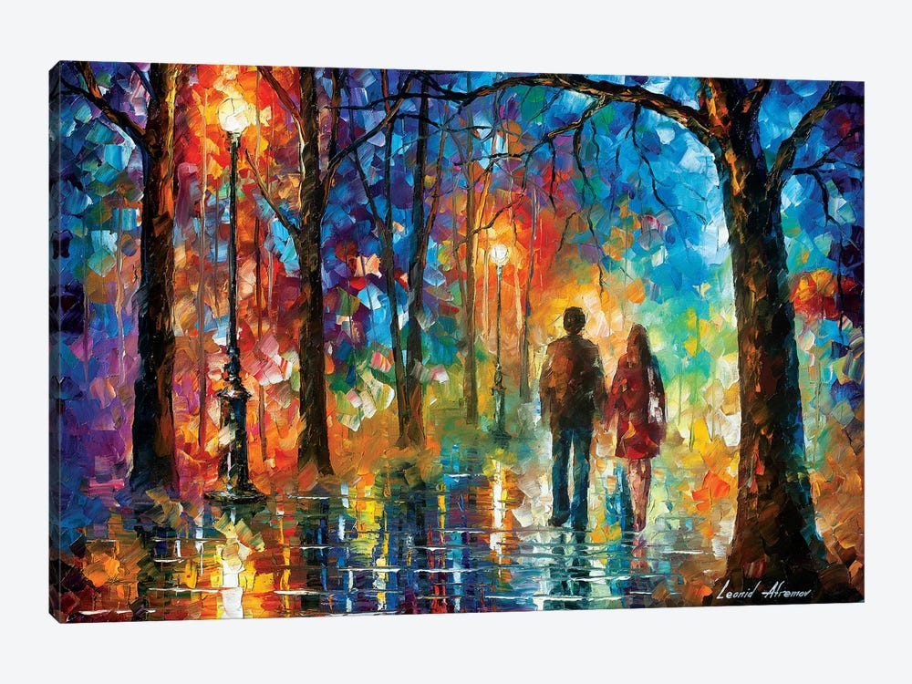 Love In The Air by Leonid Afremov 1-piece Canvas Artwork