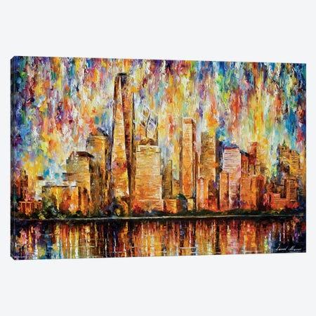New York City Canvas Print #LEA165} by Leonid Afremov Canvas Art Print
