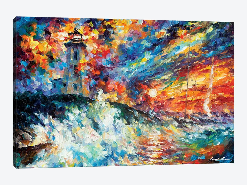 Ocean Thrill 1-piece Art Print