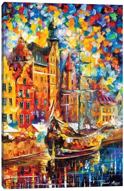 Old Dock Canvas Art Print