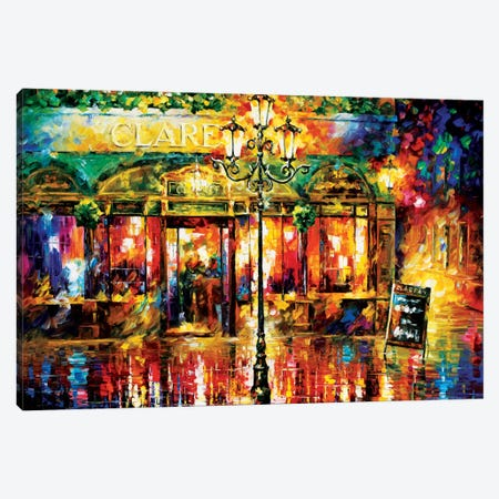 Clarens Misty Café Canvas Print #LEA16} by Leonid Afremov Art Print