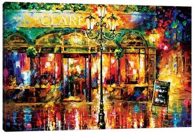 Clarens Misty Café Canvas Print #LEA16