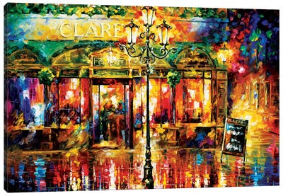 Clarens Misty Café Canvas Art Print