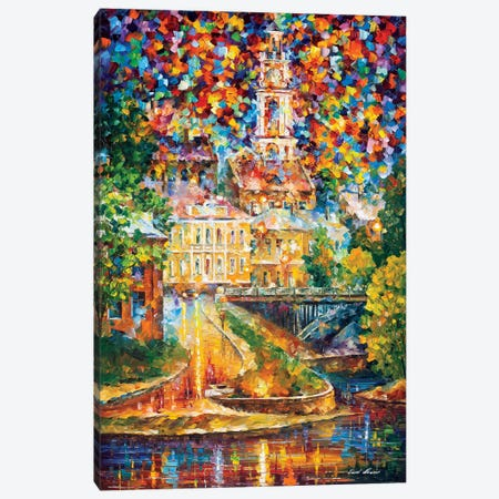 Old Vitebsk Canvas Print #LEA170} by Leonid Afremov Canvas Print
