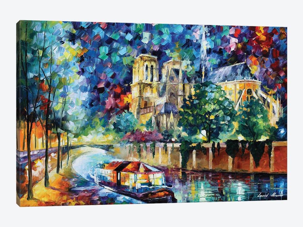 River Of Paris by Leonid Afremov 1-piece Canvas Art