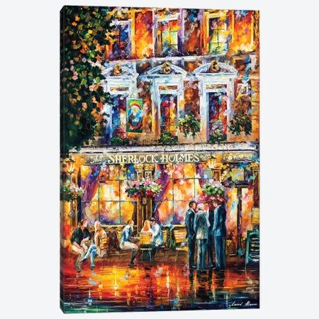 Sherlock Holmes Canvas Print #LEA173} by Leonid Afremov Canvas Art Print