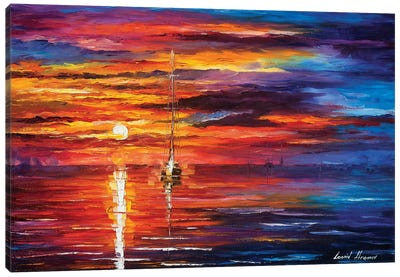 Sky Glows Canvas Art Print