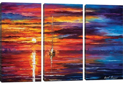 Sky Glows Canvas Art Print