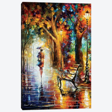 The End Of Patience 3-Piece Canvas #LEA179} by Leonid Afremov Canvas Print
