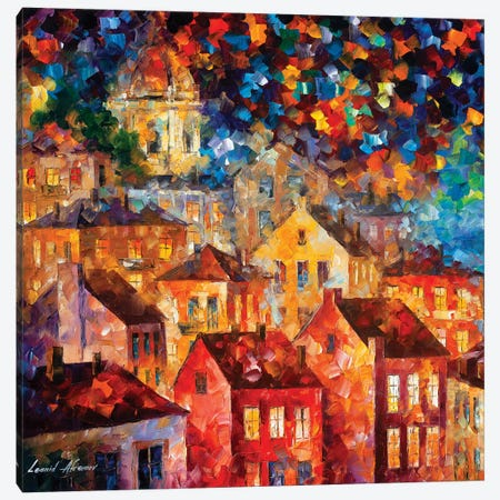 The Hills From My Dreams Canvas Print #LEA180} by Leonid Afremov Canvas Art
