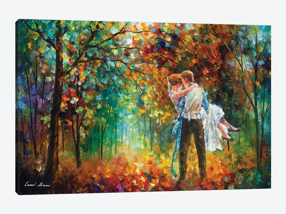 The Moment Of Love by Leonid Afremov 1-piece Canvas Art